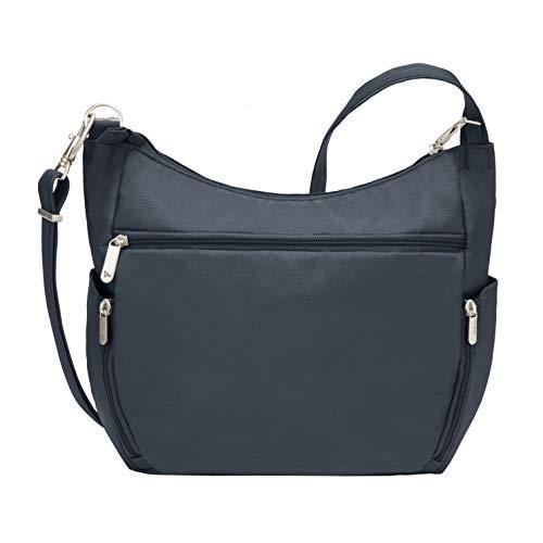 Travelon Anti-Theft Cross-Body Bucket Bag, Midnight, One Size - 42757 360