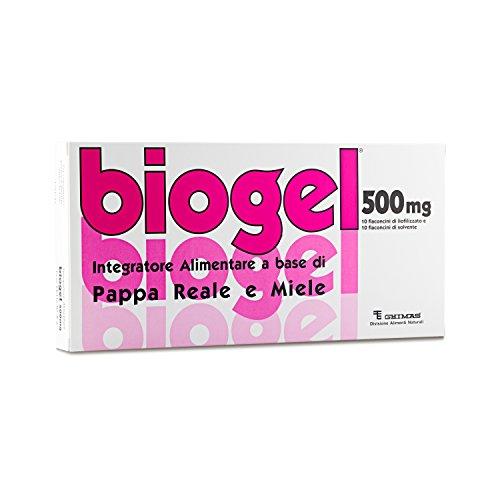 Biogel 500 - Integratore Alimentare per Adulti e Sportivi a Base di Pappa Reale e di Miele.