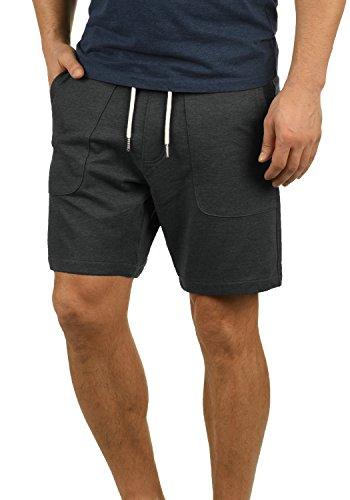 Blend Mulker Herren Sweatshorts Kurze Hose Jogginghose Mit Kordel Regular Fit, Größe:L, Farbe:Charcoal (70818)