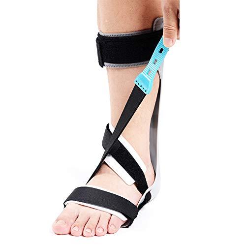 JM-D Fußknöchelorthese bei Fußheberlähmung Standard AFO-Schiene für Sprunggelenk und Fuß-Orthese, ideal für schlaffen Fallfuß,Left,Shoesize39~41