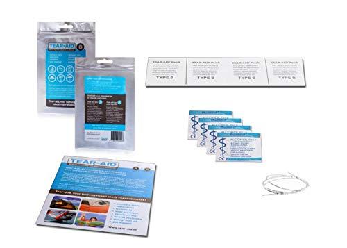 Tear-Aid reparatieset - type B - voor vinyl en PVC oppervlakken, transparant