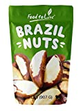 Brazil Nuts, 2 Pounds - Raw, Whole, No Shell, Unsalted, Kosher, Bulk,...