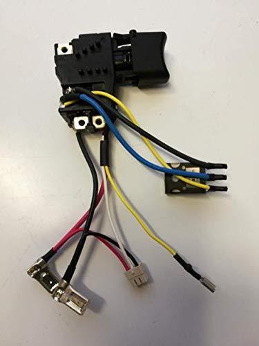 Makita 650653-1 - 650573-9 - Interruptor para BDF441/451 BHP441/451 DDF451 DHP451 - Compare la imagen/número y la forma de construcción