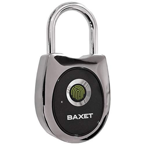 Vingerafdruk hangslot | waterdicht | USB oplaadbaar | SMART hangslot | zonder code | Geen sleutel | perfect in de sportschool voor reistassen naar kantoor en voor fietsen