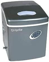 edgestar ip210ss1 portable ice maker stainless steel silver