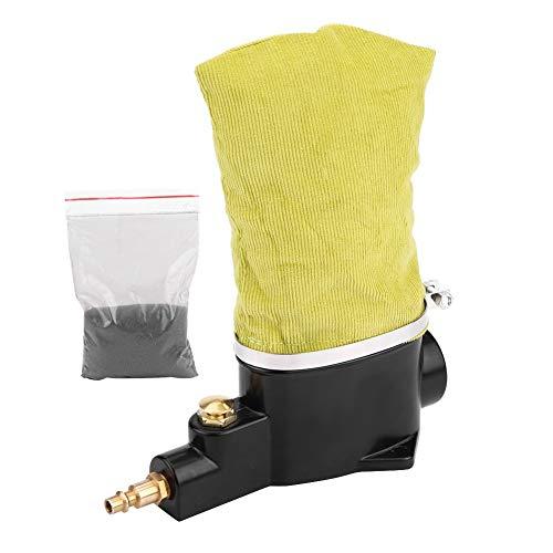 Limpiador de bujías-Limpiador de bujías de automóvil Neumático Aire Limpiador de bujías Herramienta de limpieza con abrasivo