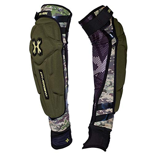 HK Army Crash Arm Pads - Elbow - HSTL Camo - Large