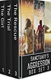 Sanctuary's Aggression Box Set 3: The Girl, The Trial, and The Rescue (Sanctuary's Aggression: A Post-apocalyptic Survival Thriller Box Set Series) (English Edition)