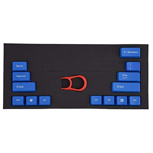 Mechanische sleutelkapjes, afdekkapje voor sleutelhanger, universele trekker voor het verwijderen van sleutelkapjes met ABS-materiaal / sleutelknoptrekker, compatibel met kersen / toetsenbord met mechanische as (blauw)
