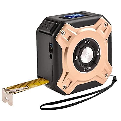 Cinta métrica medidor de distancia Digital de alta precisión 5m 40m cinta de infrarrojos Range Finder con pantalla LCD portátil de medición de herramientas