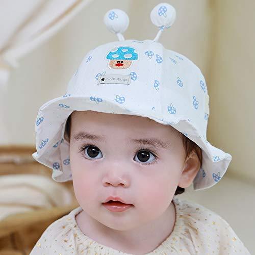 JIAYUAN Sombrero para niños con escudo con protector facial para niños, gorro de sol para niños y niñas, protección de verano, reutilizable, lavable de 0 a 15 meses para exteriores