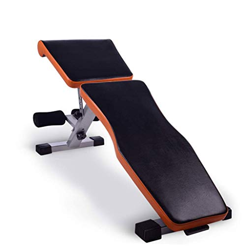 Best Buy! LSX--Dumbbell Bench Dumbbell Stool, Foldable Multifunctional Weightlifting Bed,Household A...