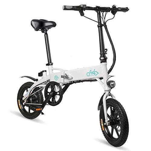 BABIFIS Bicicleta eléctrica Plegable, Plegable Bicicleta eléctrica, 250W 10.4Ah Plegable Bicicleta eléctrica,...