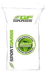 Rasensamen GF Sport Grass 10kg Sportrasen Sport- und Spielrasen Grassamen Rasensaat Saatgut Rasen Sport Spiel Grassaat Gras
