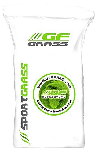 Rasensamen GF Sport Grass 30kg Sportrasen Sport- und Spielrasen Grassamen Rasensaat Saatgut Rasen Sport Spiel Grassaat Gras