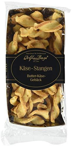 Wolfram Berge Butter Mini Käsegebäck Twists - Butter-Käse-Gebäck, 3er Pack (3 x 150 g)