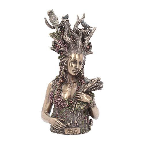 Nemesis Now Dekofigur Gaia, 30 cm, bronzefarben