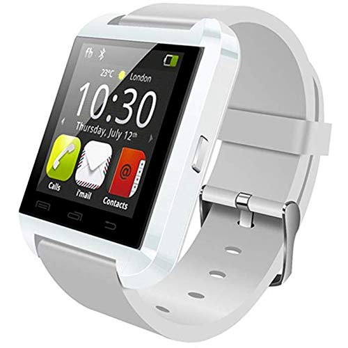 SMARTWATCH RELOJ INTELIGENTE U8 BT3.0 BLANCO 1.44'