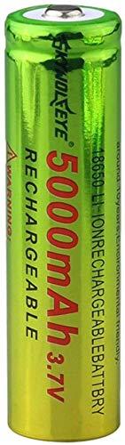 18650 3.7V 5000Mah Batería De LitioRecricaricabili Recricaricabili Li-Ion Baterías para Cell Lithium Flashlightbatteria 18650 3.7V 5000MahBatería Recargable Li-Ion Recargable Antorcha 8Pcs-1Pc