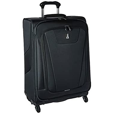 Travelpro Maxlite 4 25  Expandable Spinner, Black