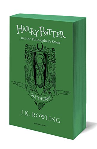 Harry Potter and the Philosopher's Stone: J.K. Rowling (Slytherin Edition - Green)
