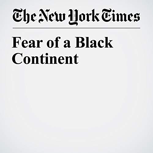 Fear of a Black Continent audiobook cover art