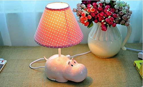 FHW Lámpara de Mesa Creativo hipopótamo lámpara de Mesa lámpara de Noche lámpara de alimentación protección de Ojo Personalidad cumpleaños Regalo lámpara lámpara de Noche lámpara de Noche Lámparas de