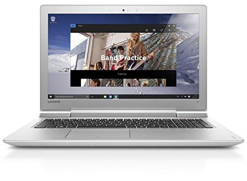 Preisvergleich Produktbild Lenovo ideapad 700 39, 62 cm (15, 6 Zoll Full HD IPS Matt) Slim Multimedia Laptop (Intel Core i5-6300HQ Quad-Core,  3, 2 GHz,  8GB RAM,  256GB SSD,  NVIDIA GeForce GTX 950M / 4GB,  Windows 10) weiß