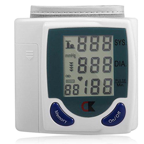 LL-Handgelenk-Blutdruckmessgerät Automatische digitale Blutdruckmessgerät BP-Tester Maschine Messgeräte für die Messung von Herzschlag und Pulsfrequenz DIA
