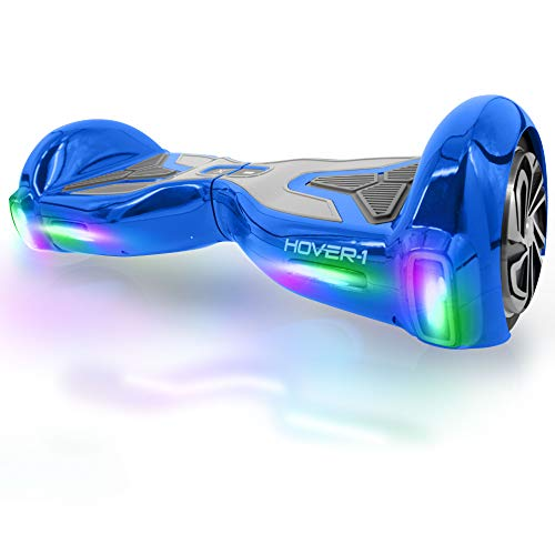Hover-1 H1 Hoverboard Electric Scooter, Blue, Small/6.5""