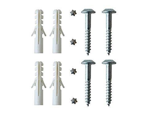 Sicherheitsschrauben Set zur Befestigung von Fenstergittern Länge 50 mm Ø 7 mm