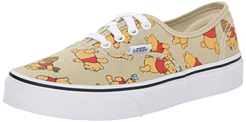 Vans K Authentic Disney, Unisex-Kinder Sneakers, Mehrfarbig (disney/winnie The Pooh/light Khaki), 33 EU