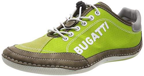 Bugatti 321480075900, Scarpe da Ginnastica Basse Uomo, Verde (Green 7000), 40 EU