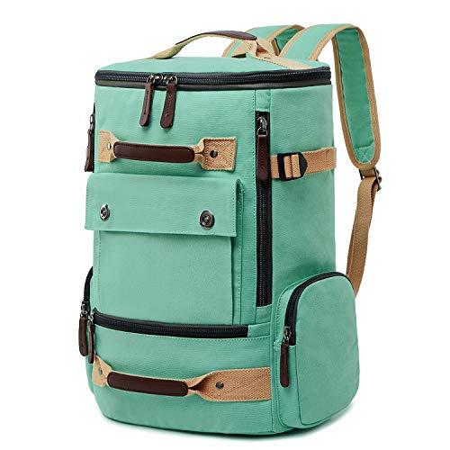 School Backpack Vintage Canvas Laptop Backpacks Men Women Rucksack Bookbags covid 19 (Top Laptop Backpacks coronavirus)