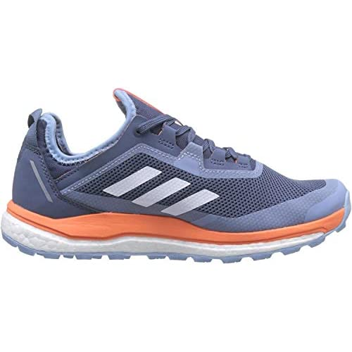 adidas Terrex Agravic Flow GTX W, Scape per Sport Outdoor Donna, Blu (Tech Ink/Glow Blue/Hi/RES Coral Tech Ink/Glow Blue/Hi/RES Coral), 36 2/3 EU