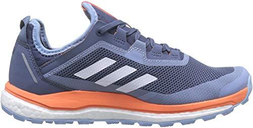 adidas Damen Terrex Agravic Flow Gore-Tex Laufschuh, Blau Tech Ink FTWR White Coral, 38 EU