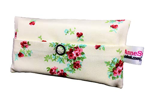 Zakdoeken, zakdoeken, rozen, crème, vintage design, adventskalender, vulling, knuffelgeschenk, cadeautje, cadeau voor collega's