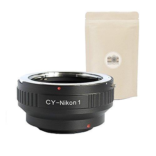 CY N1 ∞ Anillo de Adaptación para Lente Contax Yashica a Camara NIKON 1 - Adaptout Marca francesa