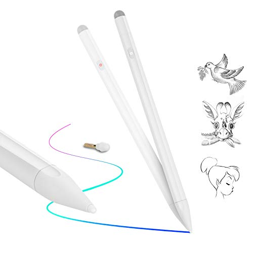 Stylus Pen for iPad, Uplayteck Active Stylus Pencil with Palm Rejection, Magnetic Attachment iPad Pencil, Compatible with iPad Pro 11/12.9 Inch 3rd Gen/iPad Air 3rd Gen/iPad 7th Gen/iPad Mini 5th Gen