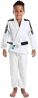 Vulkan Fight Company Brazilian Jiu Jitsu, Kids' BJJ Pro Light GI for Martial Arts Sports