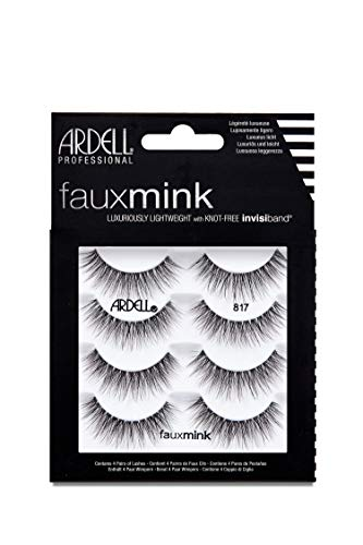 Ardell False Lashes Faux Mink 817 Multipack, 1 pk x 4 pairs