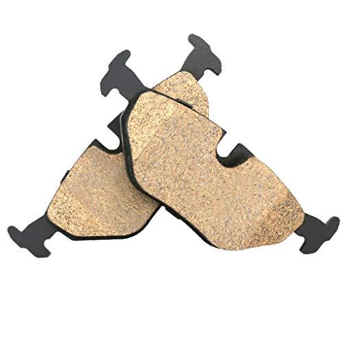 ben-gi 4 PC/Zapatos de Coches de Freno cerámicos reemplazo Pastillas de Disco de Freno Piezas del Sistema de 75 2.5L 1998-2005