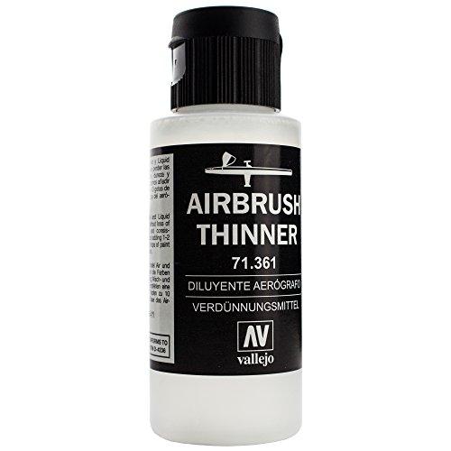 Unbekannt Airbrush Vallejo Thinner Verdünner 17ml 32ml 60ml 200ml Verdünnungsmittel (200ml)