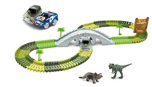 Amewi - Rennbahnen in Dinopark, Größe 373 Teile