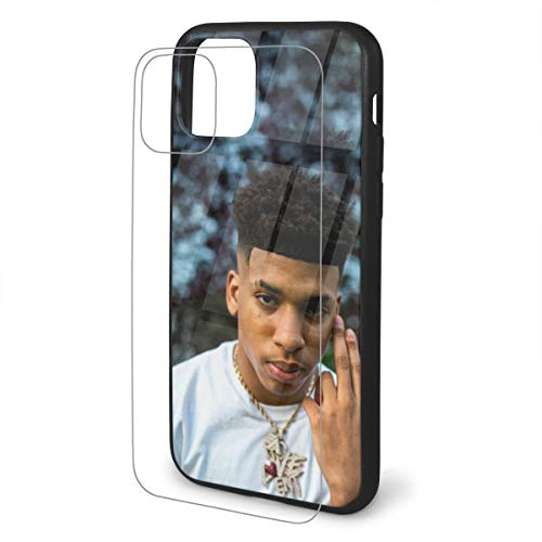 Nle-Choppa Phone Case for iPhone 11 Case,iPhone 11 Pro Case, iPhone 11 Pro Max Case, TPU Tempered Glass Phone Case for iPhone 11