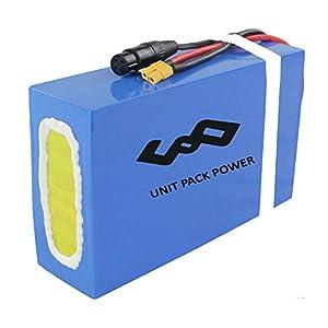 Unit Pack Power 60V/52V/48V/36V 20Ah Ebike Akku - Batterie für 2000W /1800W /1500W /1000W / 750W / 500W/ 350W Elektro Fahrrad Batterie Lithium-Ionen für Elektro-Roller Scooter