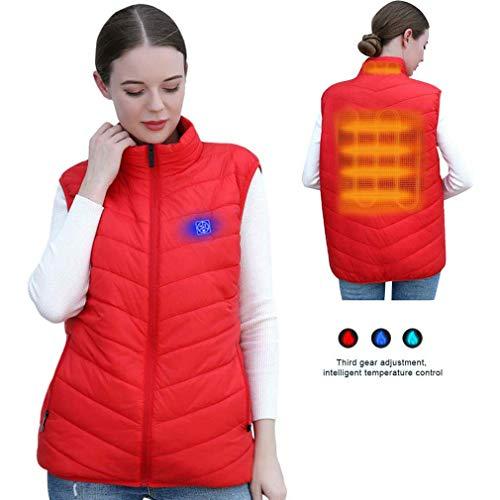 MaijIXIDE Campingkleding, 5 V, USB-oplaadbare radiator, warm vest voor mannen en vrouwen, wasbaar op 3 temperaturen.