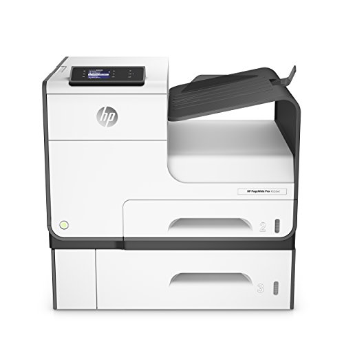HP PageWide Pro 452dwt Tintenstrahldrucker (Duplex, WiFi, Ethernet, 500 Blatt Papierfach, HP ePrint, Airprint, Cloud Print, USB, 2400 x 1200 dpi) weiß