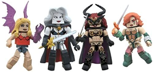 Diamond Select Toys Femme Fatales Minimates  Series 1 Box Set by Diamond Select