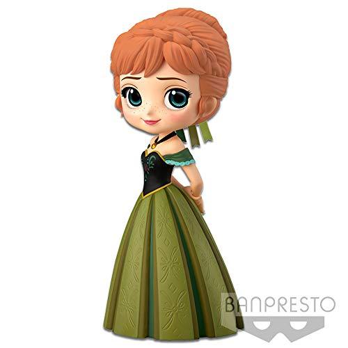 Banpresto - Q Posket, Figura Disney, Anna Coronation Style, Ana (Frozen) (Bandai 82561)